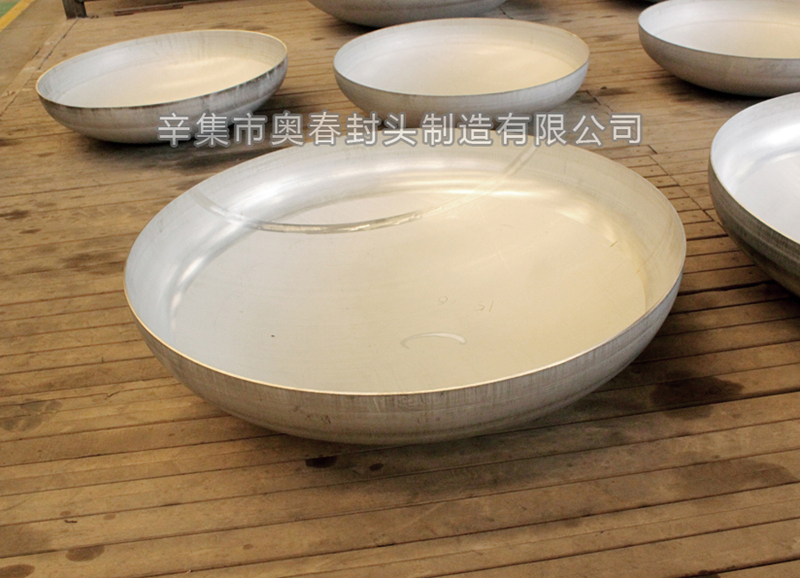Stainless steel oval head